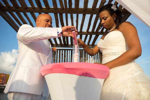 mariage Guadeloupe la créole beach le Gosier cérémonie du sable