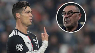 Sarri Leaves Out CR7 for Lecce Match