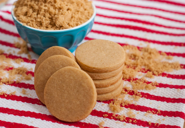 brown sugar and spice cut-out cookies