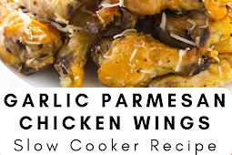 Slow Cooker Garlic Parmesan Chicken Wings Recipe