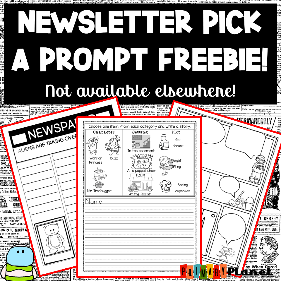 Newsletter Pick a Prompt image.