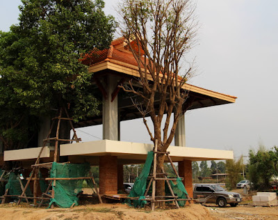 Buriram Home Building project with Thailand Village materials