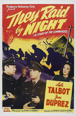 Póster película Incursión en la noche