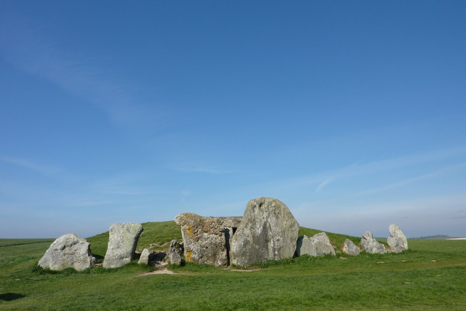 Haunted Wiltshire: West Kennet Long Barrow