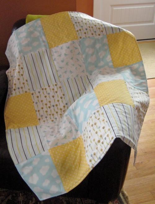 5x5 Quilt - Tutorial