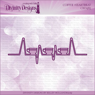 Custom Die: Coffee Heartbeat
