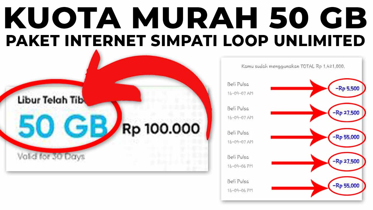 paket internet simpati loop unlimited