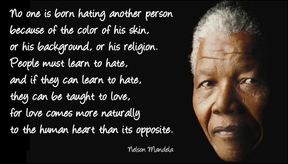 In Honor Of Nelson Mandela 1918 2013 Humanities Idea Inclusion
