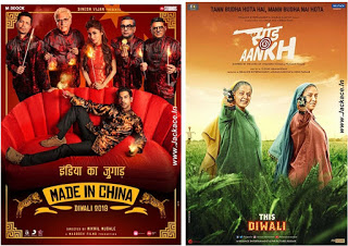 Budget & First Week Box Office Collections of Made In China And Saand Ki Aankh