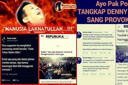 Ulama Jabar Minta Polisi Tangkap Deny Siregar Sebab Fitnah Kalimat Tauhid di Pegeroyokan Sporter Bola