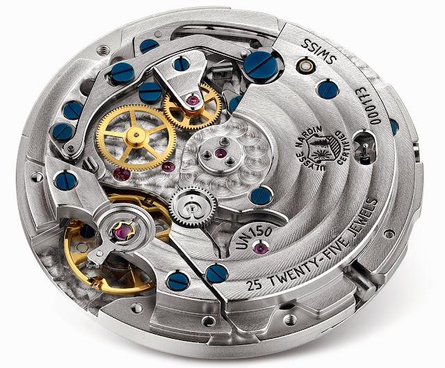 Ulysse Nardin Marine Chronograph Manufacture Voyage Bleu3