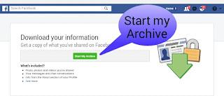 Copy of my Facebook data