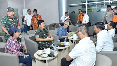 Panglima TNI Rapat Koordinasi Dengan Kementerian Terkait Gempa Palu