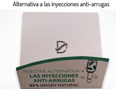 Prueba gratis alternativa a inyecciones anti-arrugas Kuvut