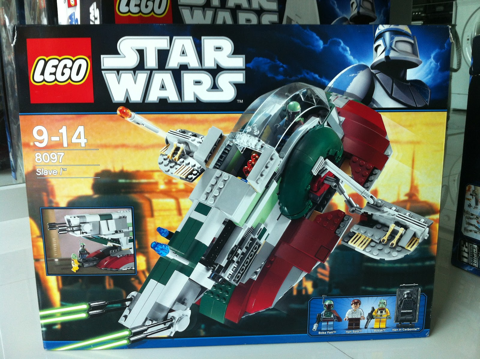 the marriage of lego and star wars review 8097 slave i
