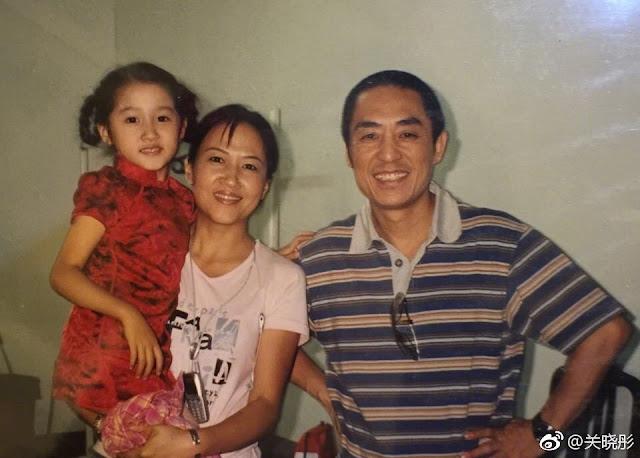 Zhang Yimou Birthday 2018 Guan Xiao Tong