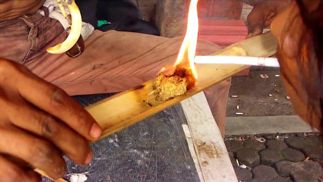 Bamboo Fire Show