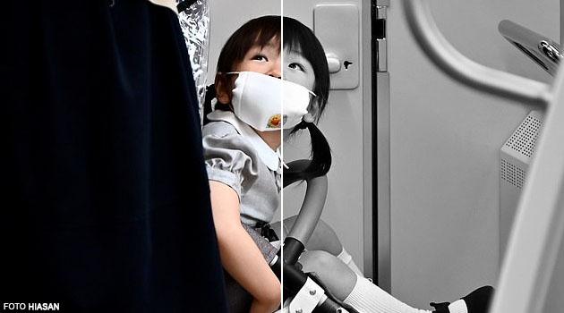 Face mask bahaya untuk budak bawah umur 2 tahun, boleh menyebabkan kesukaran bernafas - Pakar Jepun