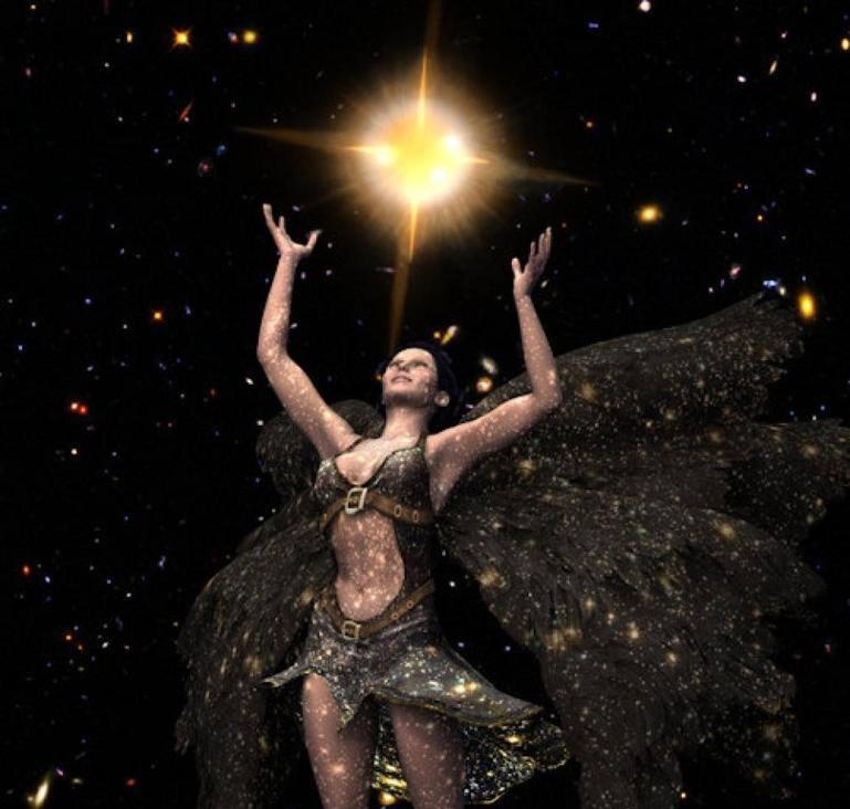 Astéria - Deusa Titã Das Estrelas