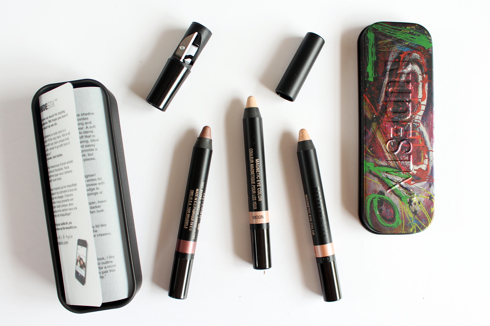 SEPHORA NEW ZEALAND | Haul - Reviews + Swatches - Nudestix Magnetic Eye Color Pencil - Angel, Spirit, Moon - Limited Edition Tin - CassandraMyee