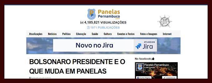 NOVO ARTIGO DE PIERRE LOGAN E AS MUDANÇAS QUE BOLSONARO PODE FAZER EM PANELAS