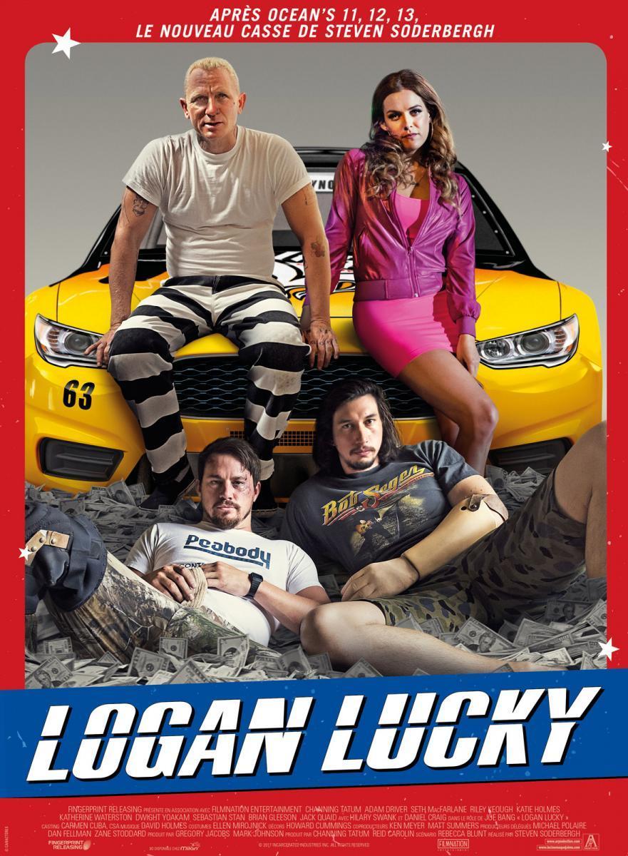 Download Logan Lucky (2017) Full Movie in Hindi Dual Audio BluRay 720p [1GB]