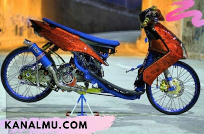 modifikasi drag racing mio soul