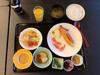 瀬波ビューホテル 朝食
