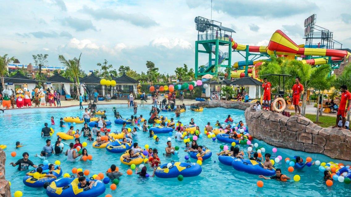 Harga Tiket Masuk Dan Wahana Go Wet Waterpark Grand Wisata