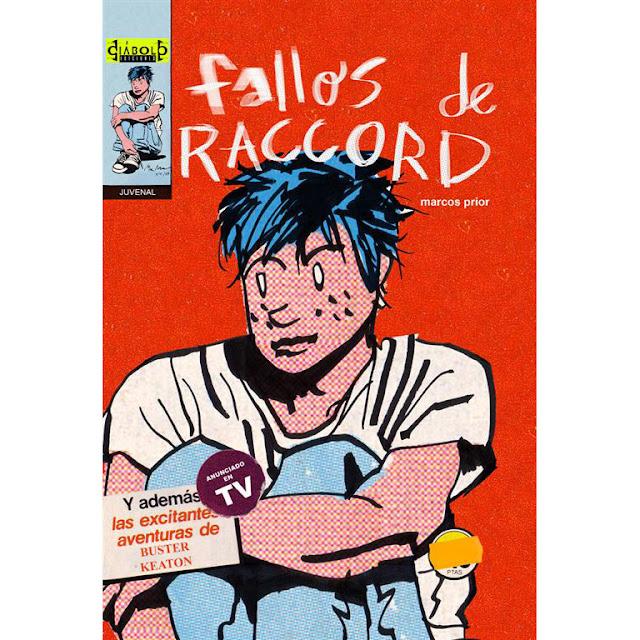 """Portada del comic """"Fallos de Raccord"""" de Marcos Prior de Diábolo Eiciones"""