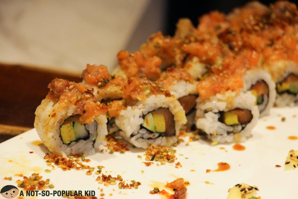 Sushi and Maki in Vikings SM BF Paranaque