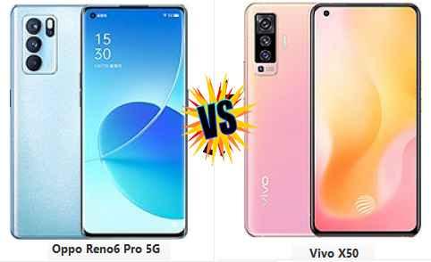 Compare: Oppo Reno6 Pro 5G vs Vivo X50 Full Spesifikasi dan Harga