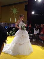 Salon du mariage Narbonne 2015 mariée