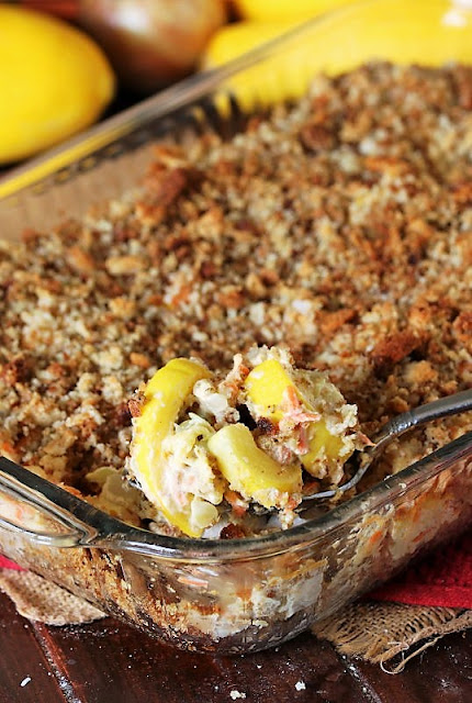 Favorite Summer Squash Casserole with Stuffing Mix Image