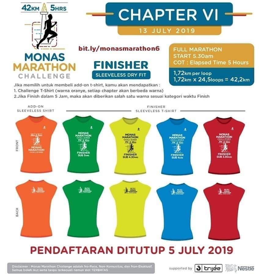 Monas Marathon Challenge - Chapter VI • 2019