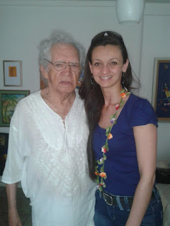 Em entrevista com o poeta Thiago Mello, Manaus