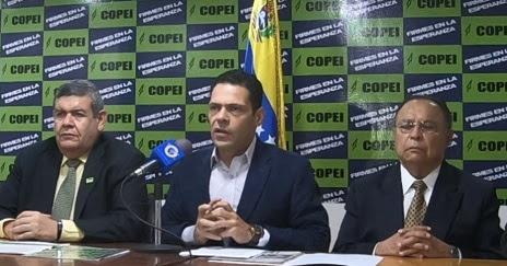 Copei anuncia su participación electoral el próximo 6 de diciembre.