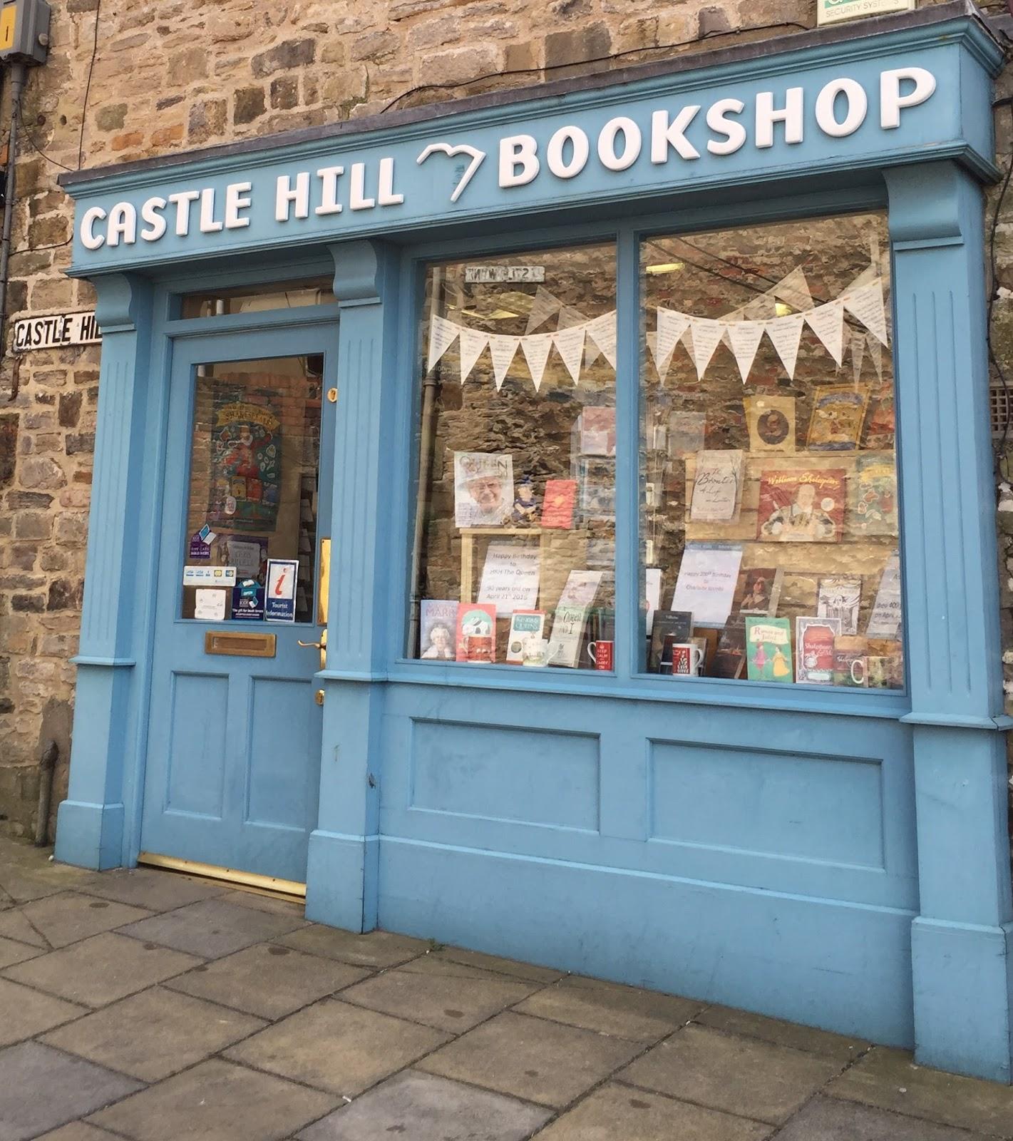 The bookshop around the corner: April 2016