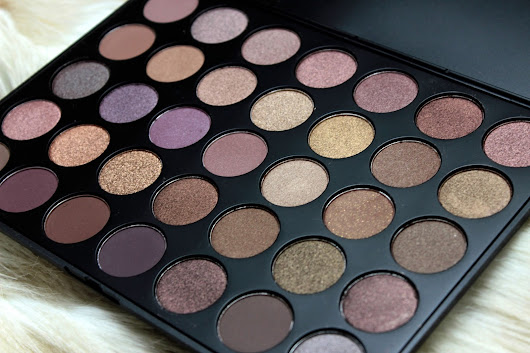 Morphe Taupe Palette | Review and Swatches