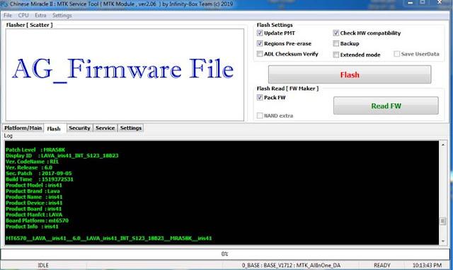 LAVA Iris 41 S123 CM2 Read Stock Rom Firmware Flash File