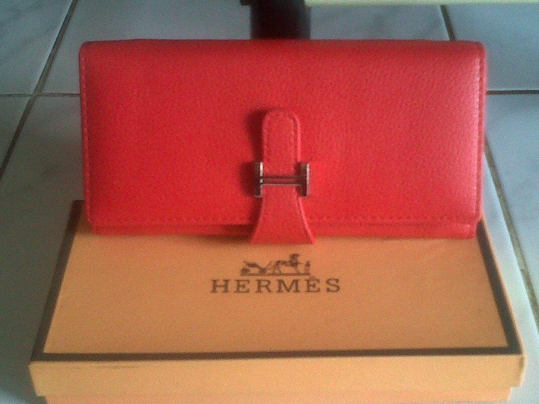 DOMPET HERMES warna Merah Rp.110.000 1544c099a0