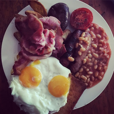 Full English Breakfast, made by me