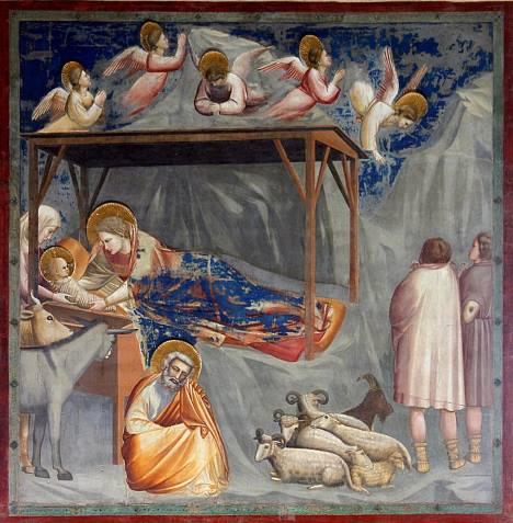 A natividade - Giotto.
