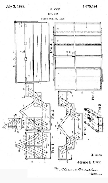 J.E. Coe Patent Number 1,675,484