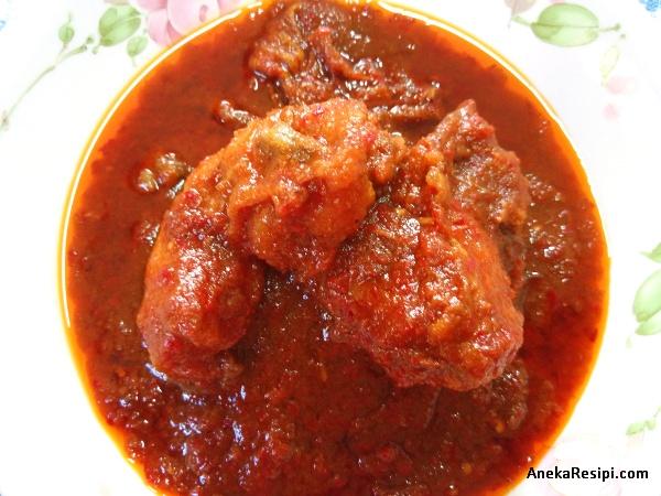 ayam masak merah kenduri kahwin mudah simple inspirasi ayam masak merah chef wan, tanpa madu