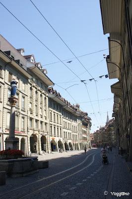 Via del centro storico di Berna