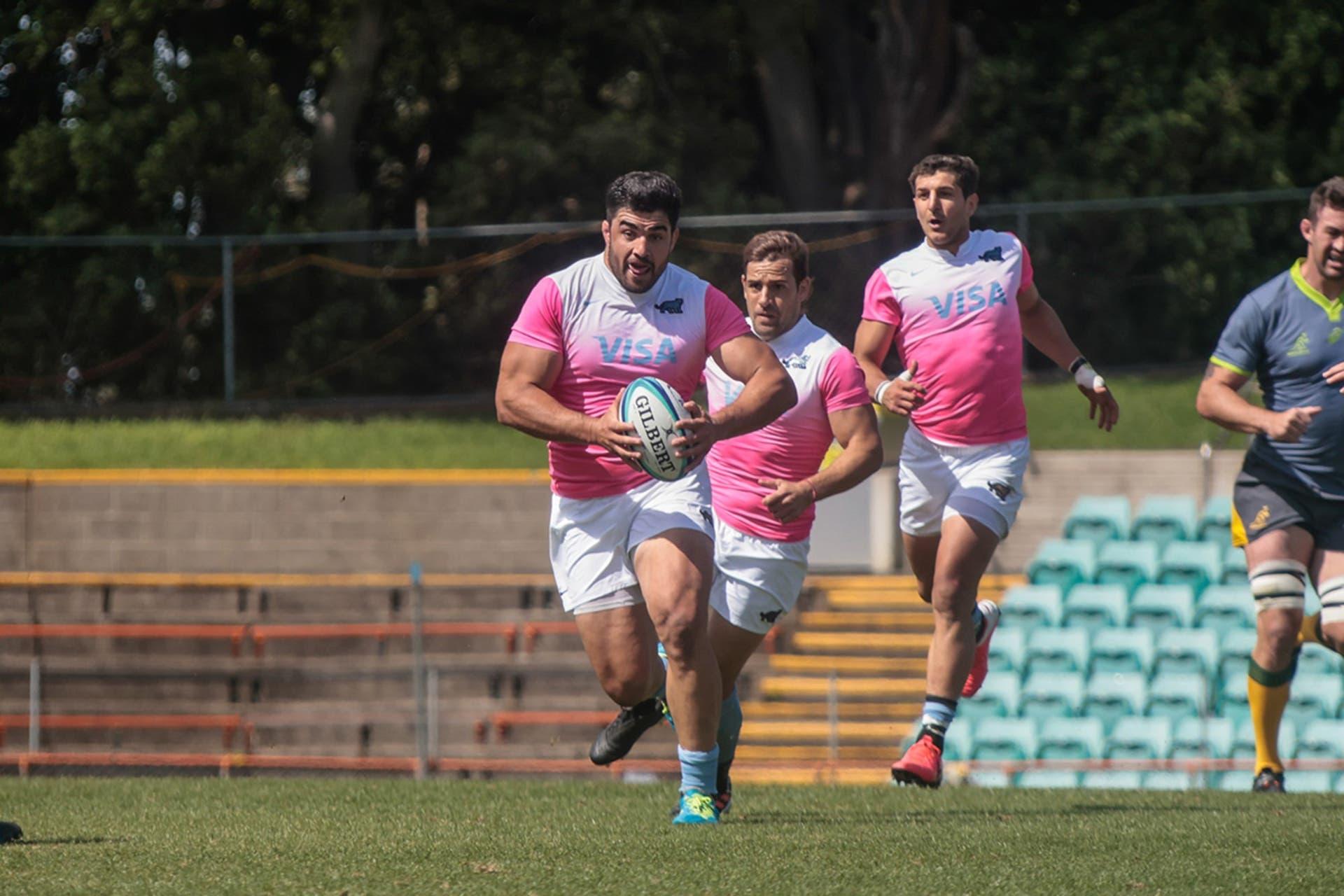 Los Pumas vs Rugby Australia Selection