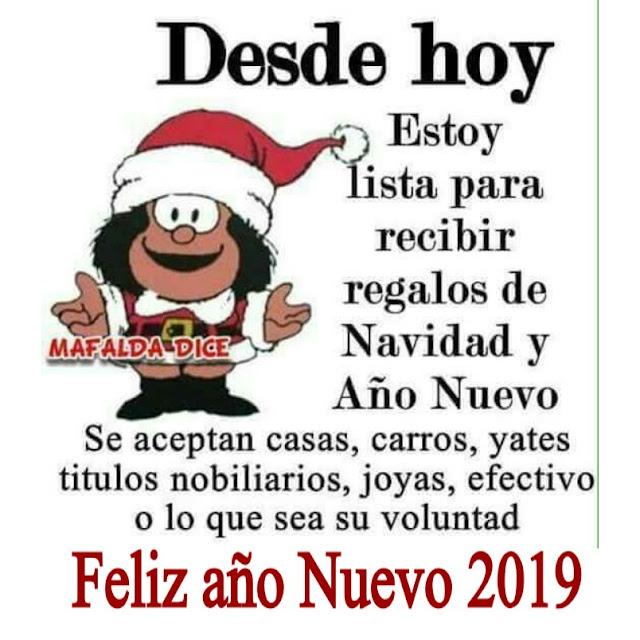 Feliz 2019 Mafalda