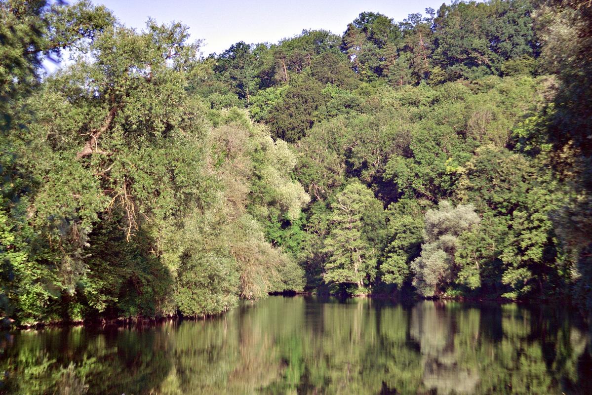 Neckar zwischen Pliezhausen und Mittelstadt