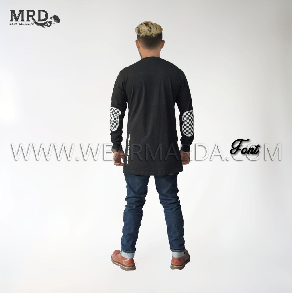 GAMIS KAOS MOTOR MRD - FONT
